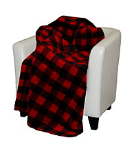 Denali® Large Bunk House Plaid Microplush Throw