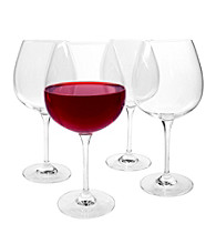 Artland® Sommelier Set of 4 Burgandy Wine Glasses