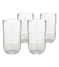 Artland® Spa Clear Set of 4 Highball Glasses