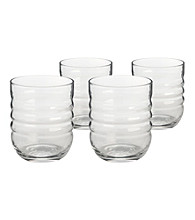 Artland® Spa Clear Set of 4 Double Old Fashion Glasses
