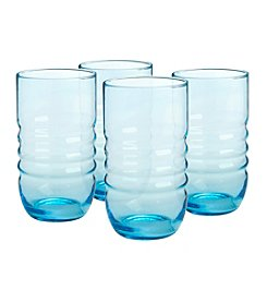 Artland® Spa Aqua Set of 4 Highball Glasses