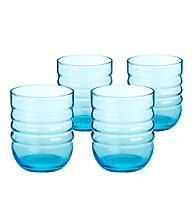 Artland® Spa Aqua Set of 4 Double Old Fashion Glasses