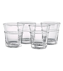 Artland® Juniper Set of 4 Double Old Fashion Glasses