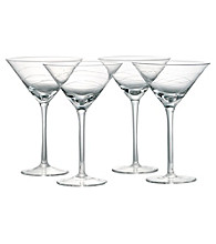 Artland® Currents Set of 4 Martini Glasses