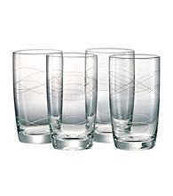 Artland® Currents Set of 4 Highball Glasses