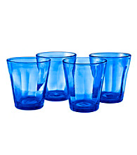 Artland® Kassie Cobalt Blue Set of 4 Double Old Fashion Glasses
