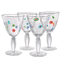 Artland® Fiore Set of 4 Goblets
