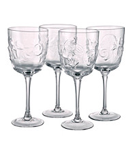 Artland® Shells Set of 4 Goblets