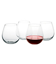 Artland® Sommelier Set of 4 Stemless Round Wine Glasses
