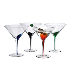 Artland® Splash Set of 4 Martini Set