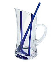 Artland® Samba Blue Pitcher with Stirrers