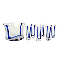 Artland® Samba Blue 7-pc. Vodka Set