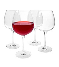 Artland® Veritas Set of 4 Burgundy Wine Glasses
