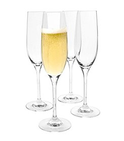 Artland® Veritas Set of 4 Champagne Flutes
