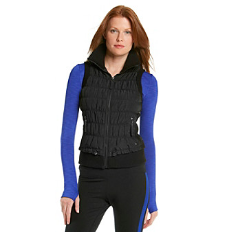 Calvin Klein Performance Vest With Sweater Trim