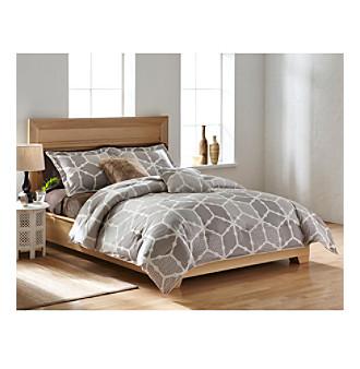 Agra 3-pc. Comforter Set by LivingQuarters Loft