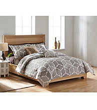 Agra 3-pc. Comforter Set by LivingQuarters Loft