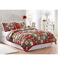 Holiday Puff Quilt by LivingQuarters