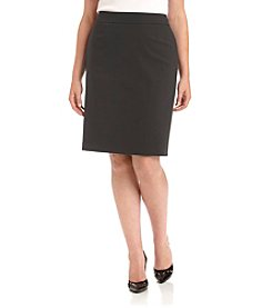 Calvin Klein Plus Size Straight Skirt