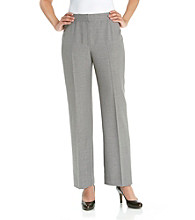 Evan-Picone® Washable Gray Dress Pants