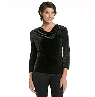 MSK® Stretch Velvet Top
