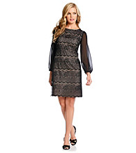 Evan-Picone® Mosiac Lace Dress