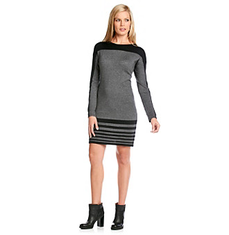 Evan-Picone® Colorblock Dress