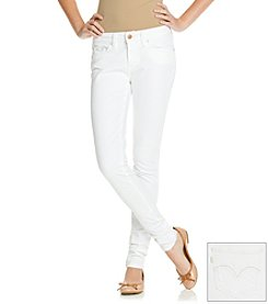 Levi's 535 White Superstretch Jean Leggings