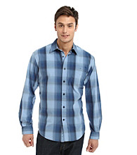 John Bartlett Consensus Men's Pattern Washed Button Down Shirt