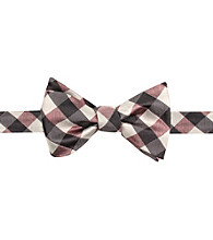 Kenneth Roberts Platinum® Men's Pink Nantucket Gingham Bow Tie
