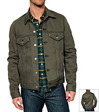Levi's® Men's Dark Grey Unlined Trucker Jacket
