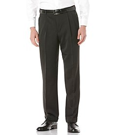Perry Ellis Portfolio® Men's Classic Fit Travel Luxe Melange Microfiber Pant