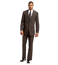 Kenneth Cole REACTION® Men's Taupe Stripe Suit Separates