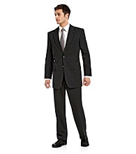 John Bartlett Statements Black Classic Fit Suit Separates