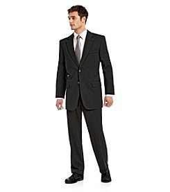 John Bartlett Statements Black Classic Fit Suit Separates