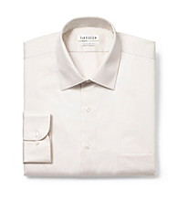 Van Heusen® Men's Ivory Long Sleeve Dress Shirt