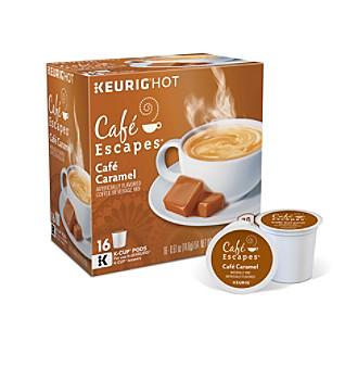 Keurig Café Escapes® Café Caramel 16-pk. K-Cups®