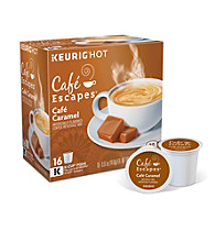 Café Escapes® Café Caramel 16-pk. K-Cups®