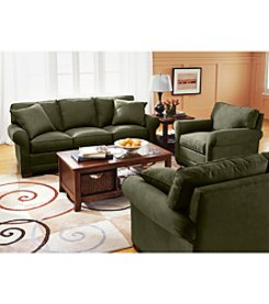 HM Richards Benson Pine Microfiber Living Room Furniture Collection