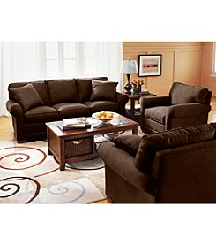 HM Richards Benson Chocolate Microfiber Living Room Furniture Collection