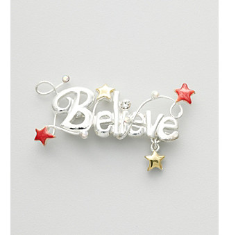 Studio Works® Silvertone Holiday Motif 2012 Inspiration Pin