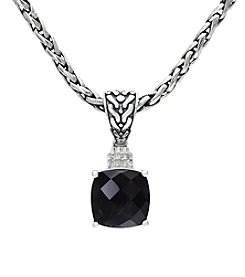 Effy® Smoky Quartz Pendant Necklace
