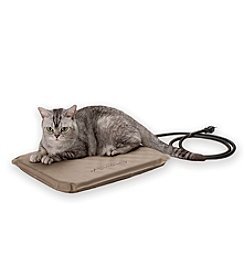 K&H Pet Products Lectro-Soft Small Tan Outdoor Heated Pet Bed
