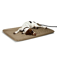 K&H Pet Products Lectro-Soft Large Tan Outdoor Heated Pet Bed