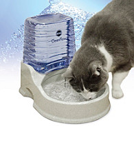 K&H Pet Products Grey Cat Clean Flow with Reservoir