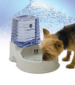 K&H Pet Products Grey Small Clean Flow with Reservoir