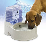 K&H Pet Products Grey Large Clean Flow with Reservoir
