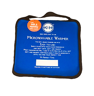 K & H Manufacturing Microwavable Pet Bed Warmer 9x9