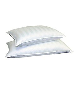 Blue Ridge Home Fashions 350 Thread-Count Supreme Damask Stripe Pillow