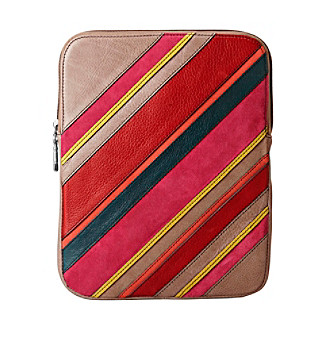 Fossil® Stripe Patchwork Tablet Sleeve